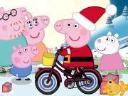 Peppa Pig reparte regalos en Navidad