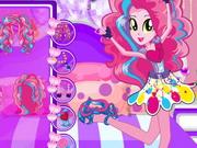 Pinkie Pie póni lány rock ruhában