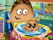 Pou Baby Wash 2