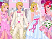 Princess At Aurora's Wedding