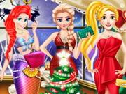 Princess At Christmas Ball