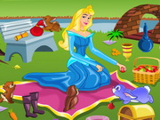 Princess Aurora Picnic Cleaning