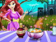Ariel kastélyban főz