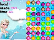 Princess Elsa Candy Match
