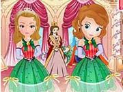 Princess Sofia And Amber Bridesmaids