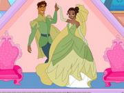 Princess Tiana Wedding Doll House