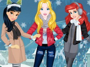 Princesses Arendelle Christmas Holidays