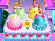 Süss hercegnős tortát