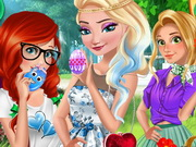 Princesses Easter Preparations
