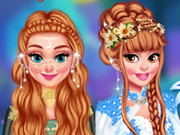 Princesses En Chanted Forest Ball