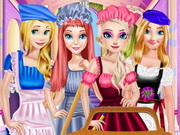 Princesses May Day Working