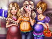 Princesses Pregnant Selfie