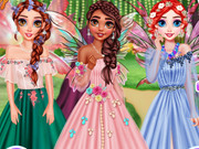 Princesses Visiting Fairy Land