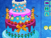 Queen Elsa Cake Decor : Queen Elsa Cake Decor - Play The Girl Game Online