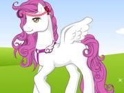 Rainbow Pony Dressup