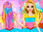 Rapunzel Wedding Hair Design 2