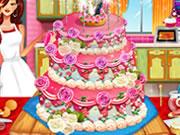 Realistic Wedding Cake Decor