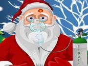 Santa Skin Trouble