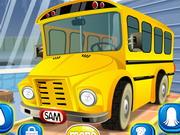 Iskola busz takarítás