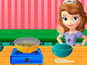 sofia cooking vegetables play the girl game online
