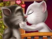 Tom Angela Kissing