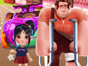 Vanellope's Car Accident Surgery