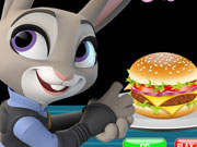Zootopia Burger Cooking