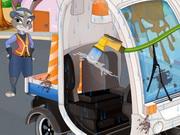 Zootopia Judy Hopps Car Wash