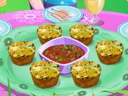 Cukkini muffin