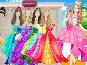 Barbie Prom Princess Dress Up