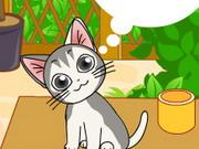 Cute Hungry Cat