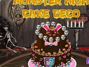 Torta Monster High módra