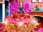 Anna csodálatos esküvői tortája