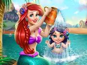 Ariel Babát fürdet