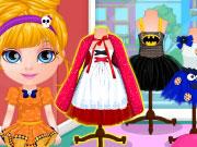Kicsi Barbie Halloween jelmeze