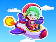 Házel baba pilótaként