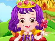 Házel baba hercegnőként