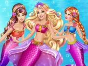 Ariel Barbie koronázása