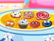 Őrült sütemények díszítése