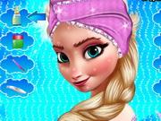Jégvarázs Elsa sminkelős