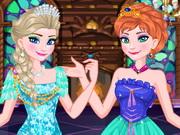 Anna és Elza a jégvarázs sztárjai