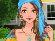 Cigány lány ruhája