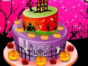 Torta dekoráció Halloweenra