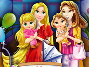 Anya és lánya hercegnős öltöztetős