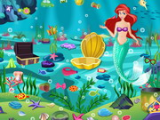 Takarítsd ki Ariel hercegnő víz alatti világát