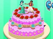 Jázmin húsvéti tortája