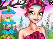 Rapunzel hercegnő sminkelős