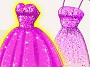 Szuperhős Barbie flitteres ruhája